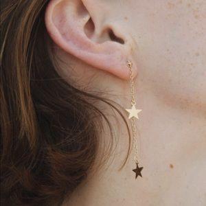 brandy melville star earrings